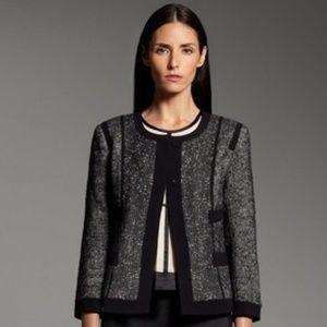 NARCISO RODRIGUEZ Textured Tweed Blazer